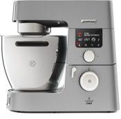 Die Kenwood Cooking Chef Gourmet KCC9060S Küchenmaschine in der Seitenansicht zu sehen
