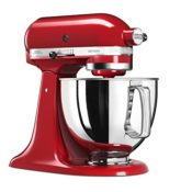 Die KitchenAid 5KSM125EER, Artisan Küchenmaschine in der Gesamtaufnahme